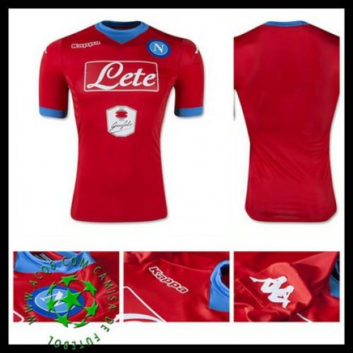 2d706c496fe91 Camisetas Napoli 2015 2016 Iii Masculina - camisolas de futebol ...