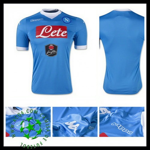 Camisas Napoli 2015 2016 I Masculina - camisolas de futebol Napoli ... 575d228e246d7