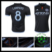 Camisa De Futebol New York City Fc (8 Lampard) 2015/2016 Ii Masculina