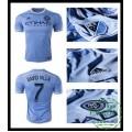 Para Camisas Futebol David Villa New York City Fc Masculina 2016-2017 I Loja On-Line