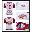 Comprar One Camisas De Futebol Sam New York Vermelho Bulls Masculina 2016 2017 I Loja On-Line