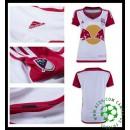 A Partir De Loja Camisas Futebol New York Vermelho Bulls Feminina 2016/2017 I Loja On-Line