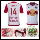 Camisas Futebol New York Vermelho Bulls (14 Henry) 2015/2016 I Masculina