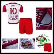 Camisa Futebol New York Vermelho Bulls (10 Sam) 2015 2016 I Infantil