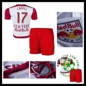 Camisas De Futebol New York Vermelho Bulls (17 Cahill) 2015/2016 I Infantil