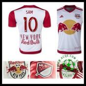 Camisas Futebol New York Vermelho Bulls (10 Sam) 2015-2016 I Masculina
