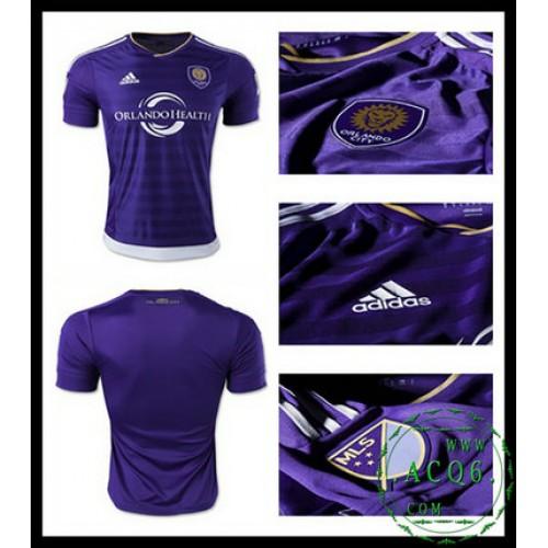 Equilíbrio Camisa Futebol Orlando City Masculina 2016-2017 I On-Line ... ae3ea5bd26d99