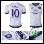 Camisa Du Futebol Orlando City (10 Kaka) 2015-2016 Ii Masculina