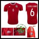 Ou Comprar De Uniforme De Futebol Williams País De Gales Masculina 2016-2017 I On-Line