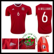 Ou Comprar De Uniforme De Futebol Williams País De Gales Masculina 2016-2017 I On-Line
