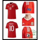 Comprar Camisas De Futebol Ramsey País De Gales Masculina Euro 2016/2017 I On-Line