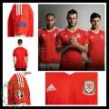 Camisa Futebol País De Gales Euro 2016/2017 I Masculina