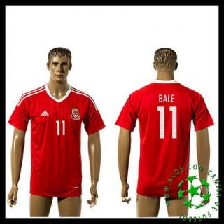 Questão Uniforme Futebol Bale País De Gales Masculina Euro 2016/2017 I Loja On-Line