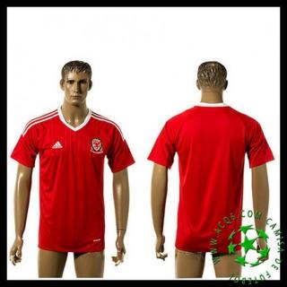 Venda Uniformes Futebol País De Gales Masculina Euro 2016/2017 I Loja On-Line