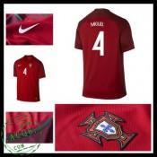 Camisa De Futebol Portugal Miguel Euro 2016/2017 I Masculina