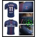 Camisa De Futebol Paris Saint Germain Di Maria 2016-2017 I Masculina