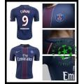 Camisas Futebol Paris Saint Germain Cavani 2016/2017 I Masculina
