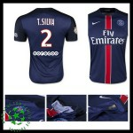 Camisa Paris Saint Germain T.Silva 2015-2016 I Masculina