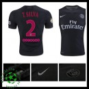 Camisetas Paris Saint Germain T.Silva 2015/2016 Iii Masculina