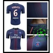 Camisas Paris Saint Germain Verratti 2016/2017 I Masculina