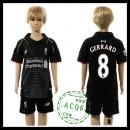 Liverpool Camisas Futebol Gerrard 2015-2016 I Infantil