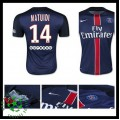 Camisas De Futebol Paris Saint Germain Matuidi 2015 2016 I Masculina