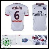 Camisas Futebol Paris Saint Germain Verratti 2015/2016 Ii Masculina