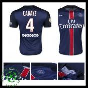 Camisas De Futebol Paris Saint Germain Cabaye 2015-2016 I Masculina