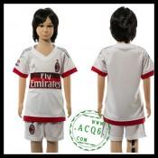 Ac Milan Camisas Futebol 2015-2016 Ii Infantil