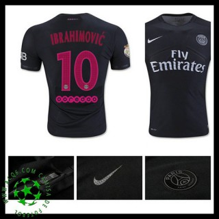 Camisa Futebol Paris Saint Germain Ibrahimovic 2015/2016 Iii Masculina