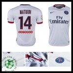 Camisa Futebol Paris Saint Germain Matuidi 2015/2016 Ii Masculina