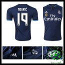 Camisa Du Futebol Real Madrid (19 Modric) 2015 2016 Iii Masculina