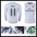 Camisas Real Madrid (11 Bale) Manga Longa 2015 2016 I Masculina