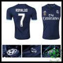 Camisas Real Madrid (7 Ronaldo) 2015/2016 Iii Masculina