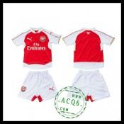 Arsenal Uniforme De Futebol 2015/2016 I Infantil