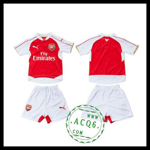 Arsenal Uniforme De Futebol 2015 2016 I Infantil - Camisa Clube ... 25bf28203ac69