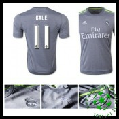 Camisa Futebol Real Madrid (11 Bale) 2015/2016 Ii Masculina