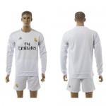 Real Madrid Camisas Manga Longa 2015 2016 I Masculina