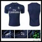 Camisas Futebol Real Madrid 2015-2016 Iii Masculina