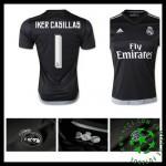 Uniformes Futebol Real Madrid (1 Iker Casillas) 2015 2016 I Goleiro