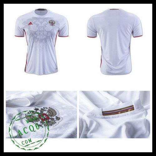 Camisas De Futebol Rússia Autêntico Ii Euro 2016 Masculina ... 53c024c4aa50f