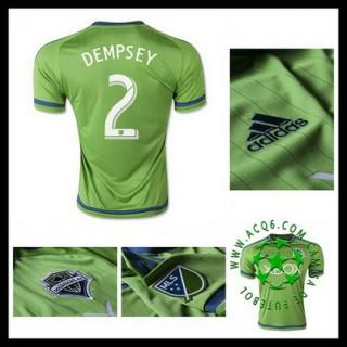Camisas Futebol Seattle Sounders (2 Dempsey) 2015-2016 I Masculina