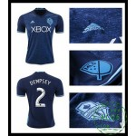 Comprar One Uniforme Futebol Dempsey Seattle Sounders Masculina 2016-2017 Iii On-Line