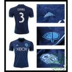 Um Rebanho Camisa Futebol Evans Seattle Sounders Masculina 2016-2017 Iii Loja On-Line