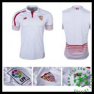 Uniforme Futebol Sevilla 2015-2016 I Masculina