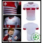 Ou Comprar De Camisa Futebol Suíça Masculina Euro 2016/2017 Ii Mais Barato Online