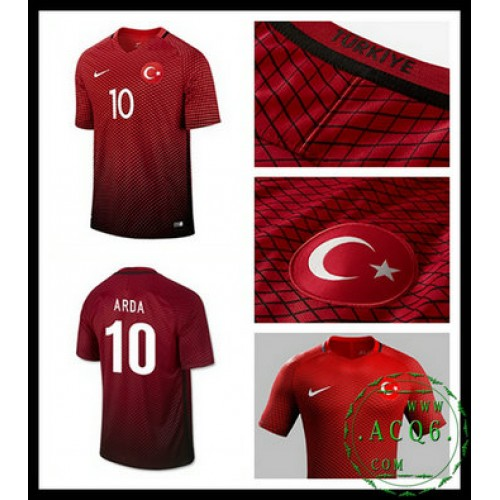 Compra Camisa Futebol Arda Turquia Masculina Euro 2016 2017 I Loja On-Line 5f711078df353