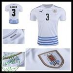 Camisas Futebol Uruguai D. Godin 2016 2017 Ii Masculina