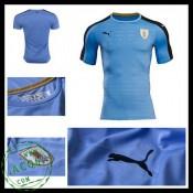 Camisa Futebol Uruguai 2016-2017 I Masculina