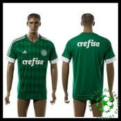 A Partir De Venda Camisa Futebol Sociedade Esportiva Palmeiras Masculina 2016 2017 I Mais Barato Online